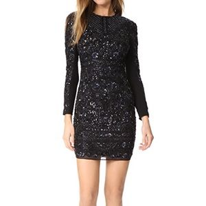 Needle & Thread Midnight Lace Embellished Dress 2